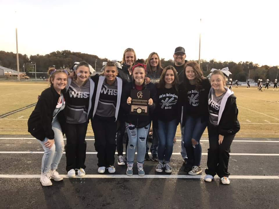 Wyandotte XC Girls Receive State Academic Achievement Award