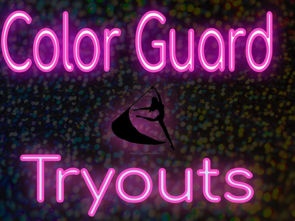 Color Guard Tryout Information