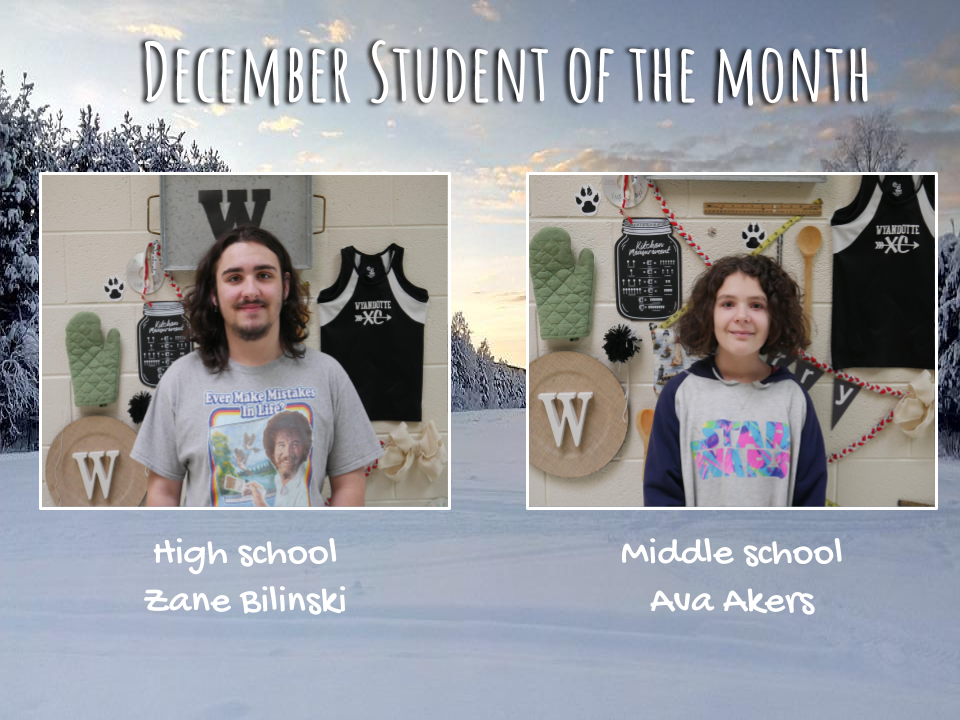 December: Student of the Month
