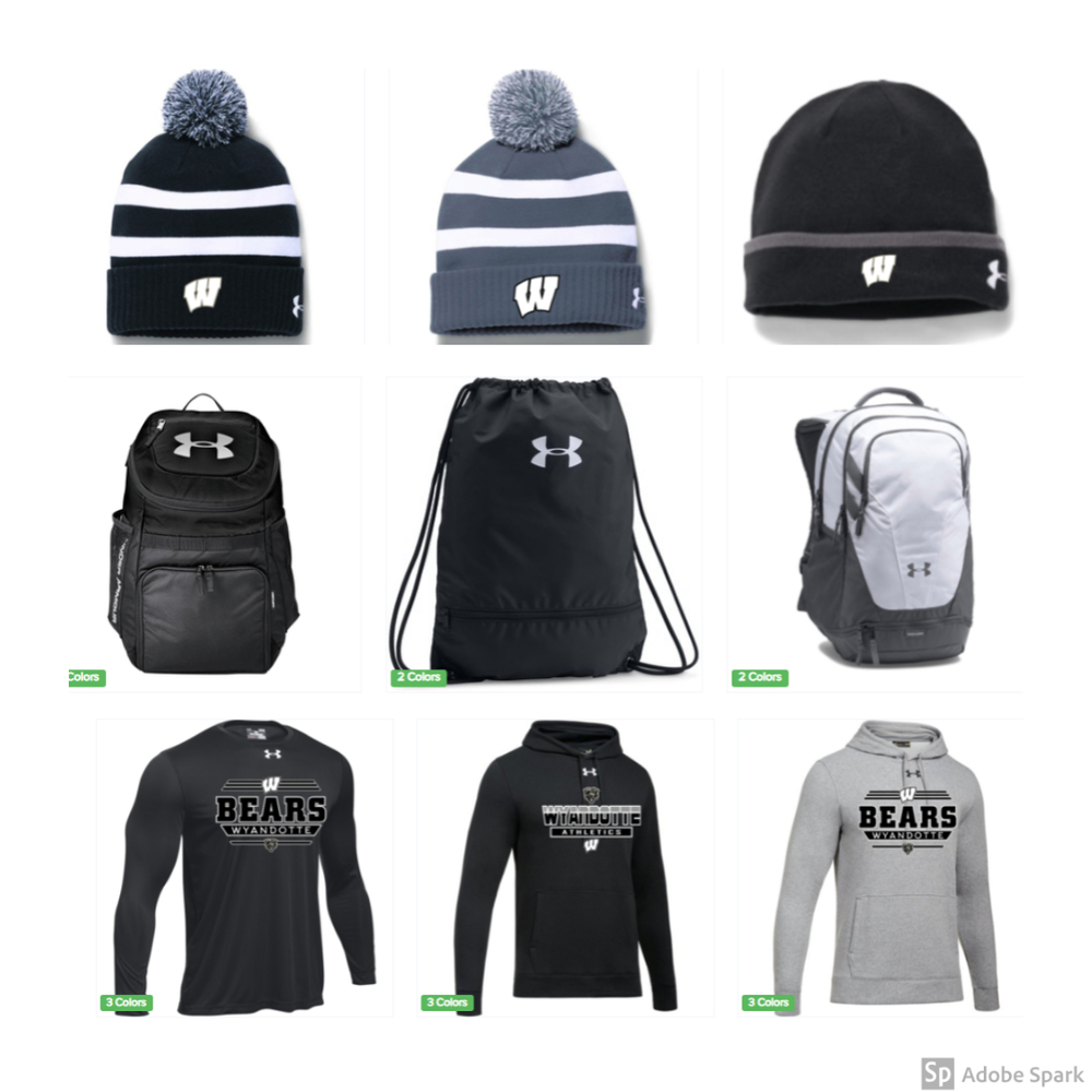 Wyandotte Athletics Winter Online Store