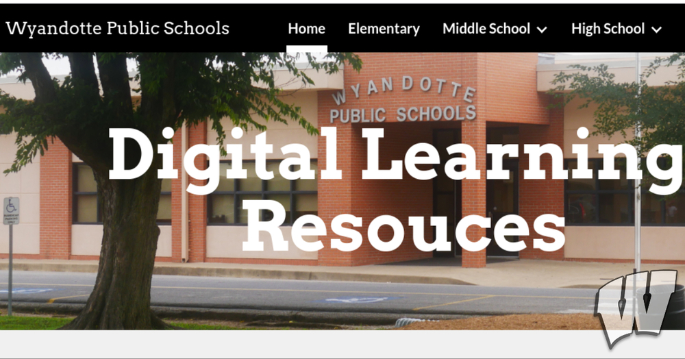 Digital Learning Resources Website