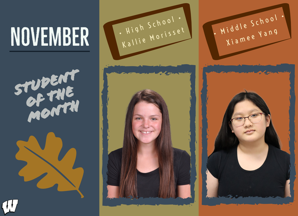 November: Student of the Month