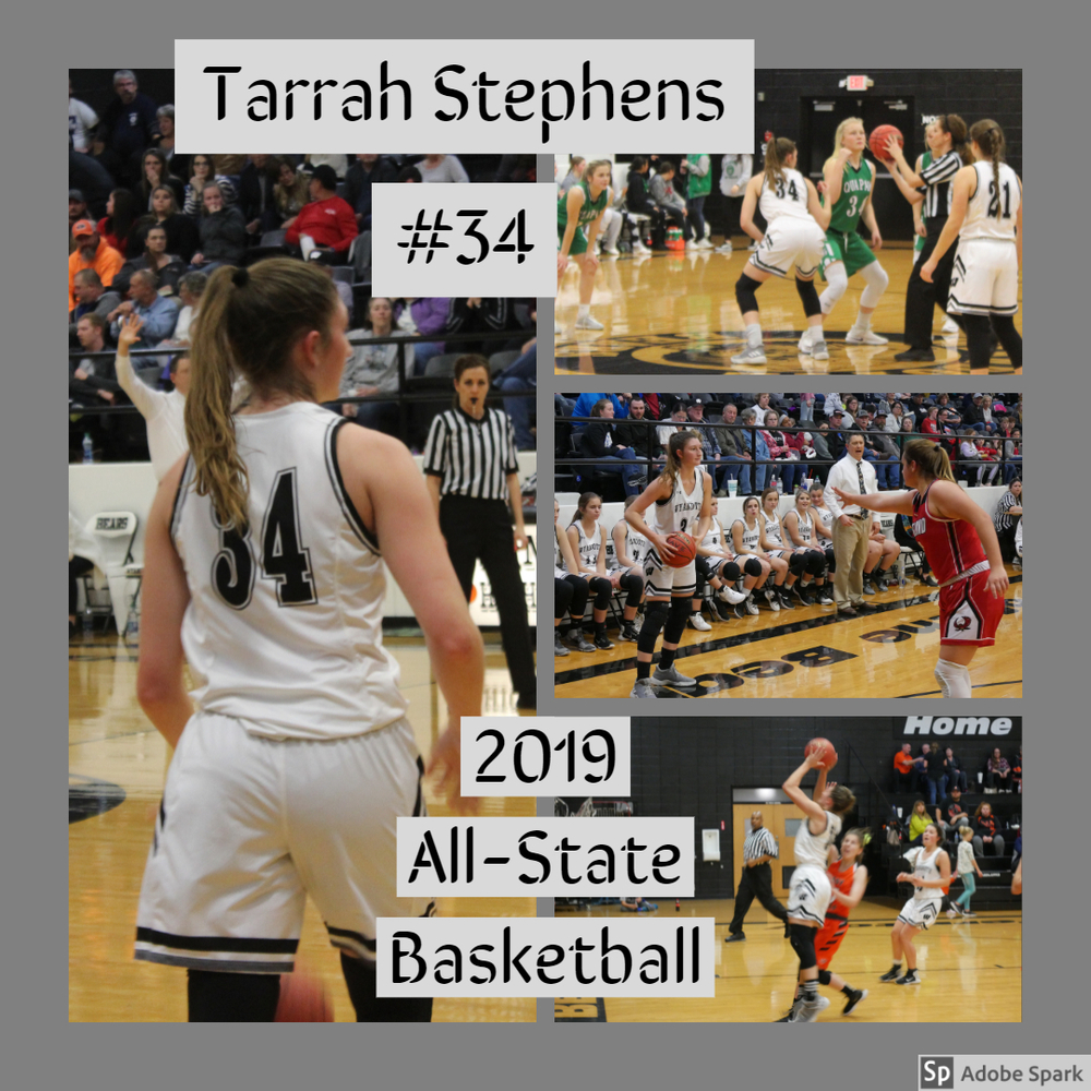 All-State Basketball Selection: Tarrah Stephens