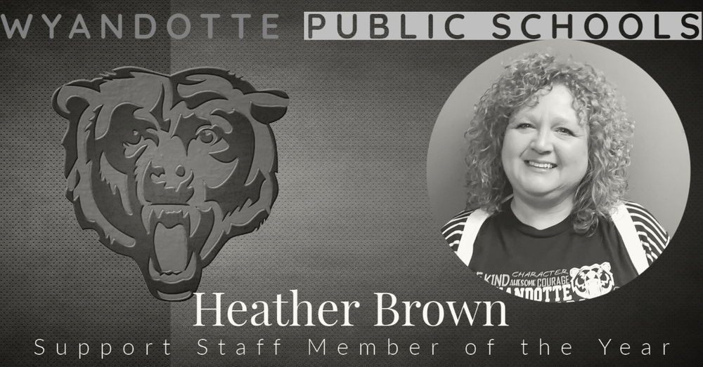 2020/2021 Support Staff Member of the Year: Heather Brown