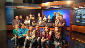 MS Communications visits KOAM TV
