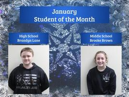 January: Student of the Month