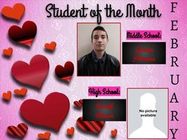 February: Student of the Month