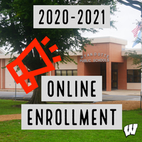 2020-2021 Online Enrollment for Students