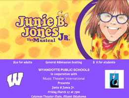 Wyandotte Public Schools presents: Junie B. Jones Jr.