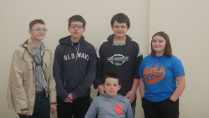7/8 Academic Team Takes 4th at Regionals