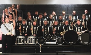 Wyandotte HS Band Takes 3rd Place