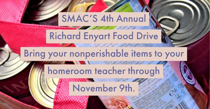 Richard Enyart Food Drive