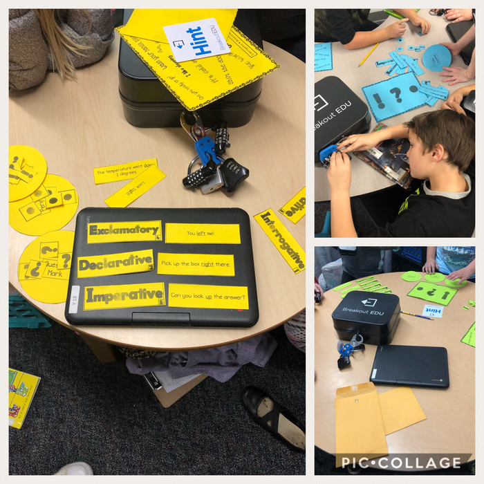 Breakout EDU in Mrs. Young's 3rd grade!