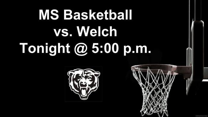 MS Basketball Game November 29th