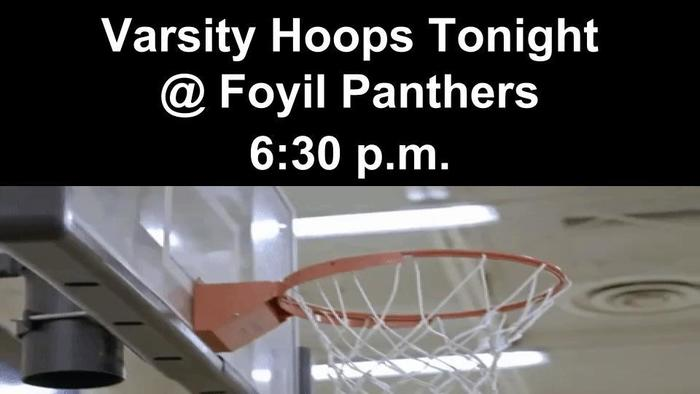 Bears vs. Foyil Basketball 1/15/2019
