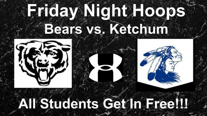 Wyandotte vs Ketchum Basketball Friday Night