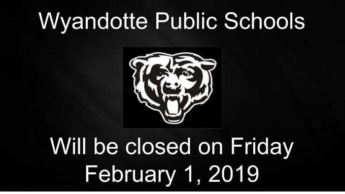 Wyandotte Schools closed Friday