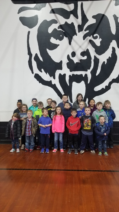 Jan. 31 Paws-itively Outstanding students