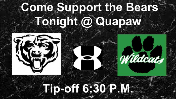 Bears @ Quapaw Basketball