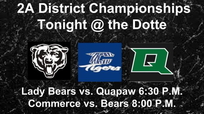 District Championship at Wyandotte Tonight