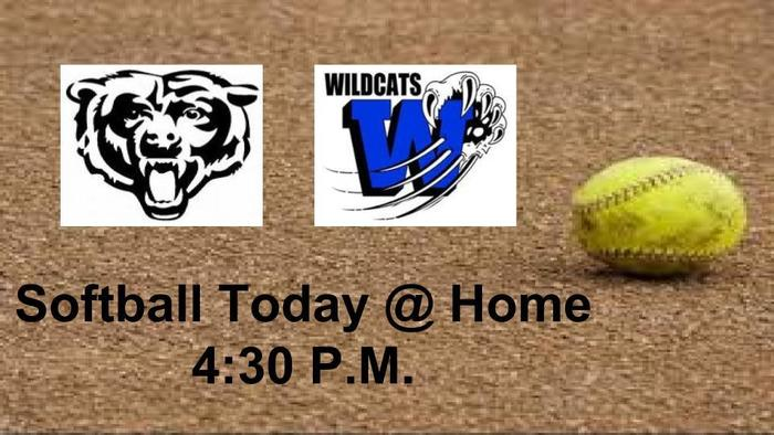Lady Bears Softball vs. Welch