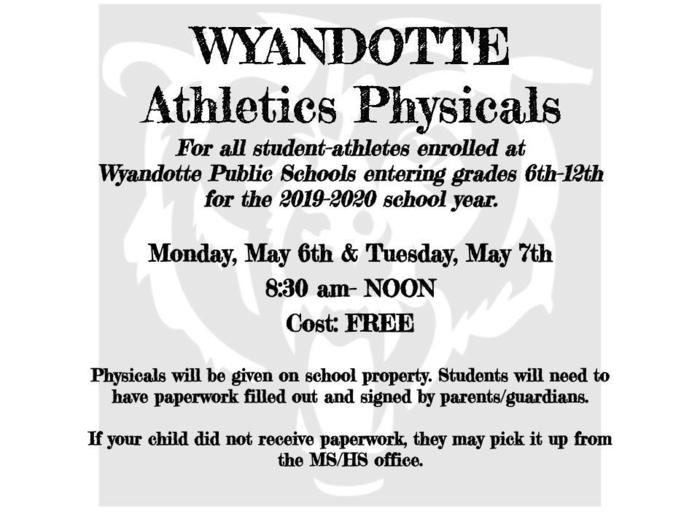Wyandotte Physicals