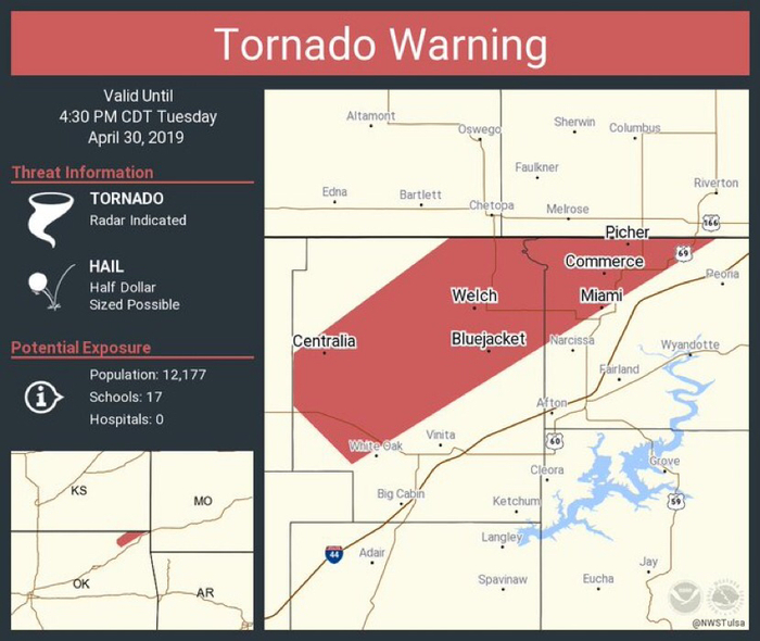 Tornado Warning Wyandotte