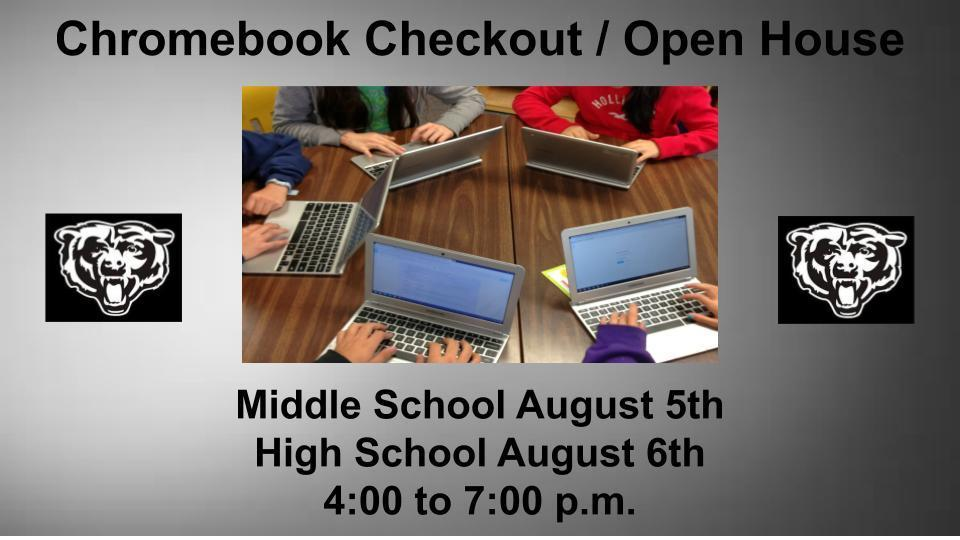 Wyandotte Chromebook Checkout