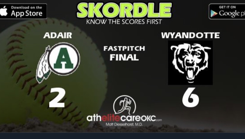 Wyandotte beats Adair