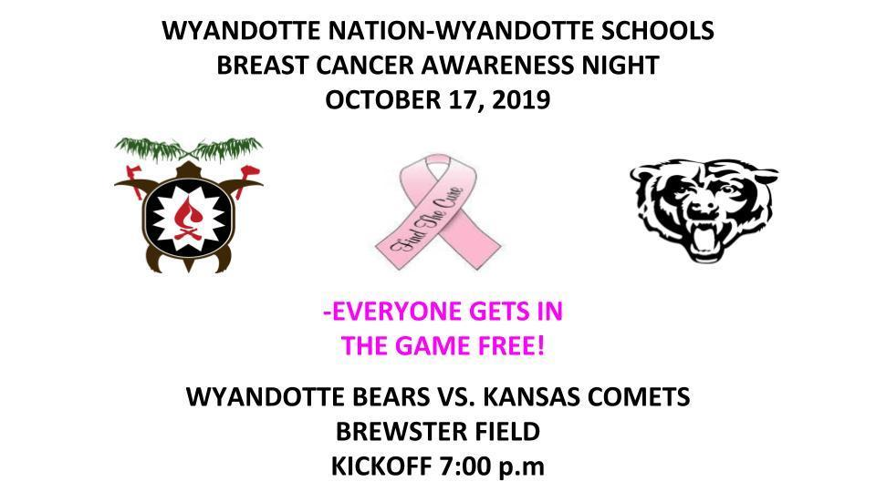 Wyandotte Breast Cancer Awareness Night