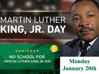 MLK Day No School